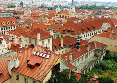Centrum Prahy výhled